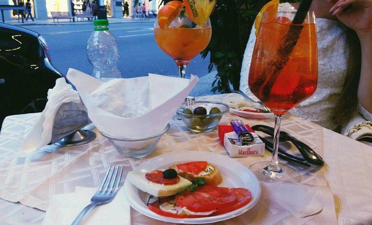 Aperitivo a Milano #italia #food