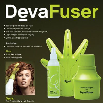 HAIR 2 GO - DevaCurl - DevaFuser - Hand Shaped Diffuser, $49.00 (http://www.hair2go.com.au/devacurl-devafuser-hand-shaped-diffuser/)