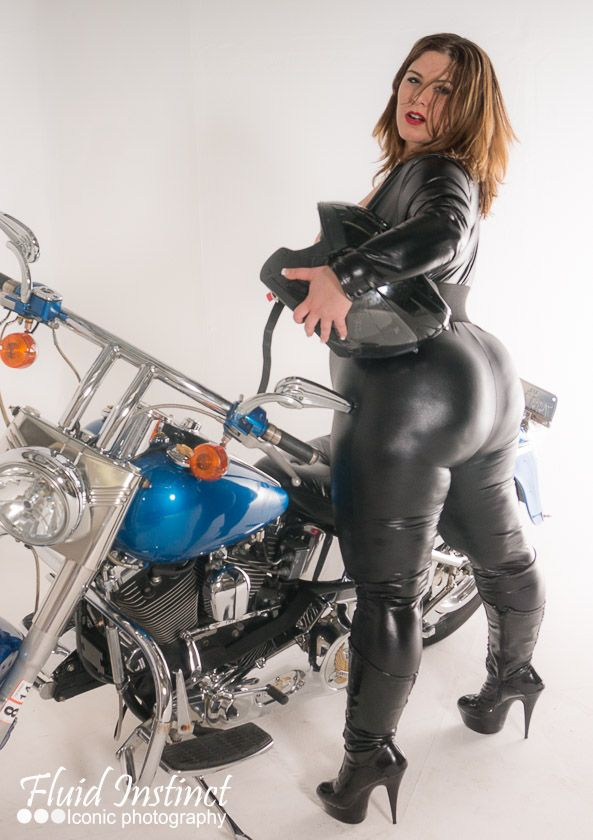 hood booty and motorcycles