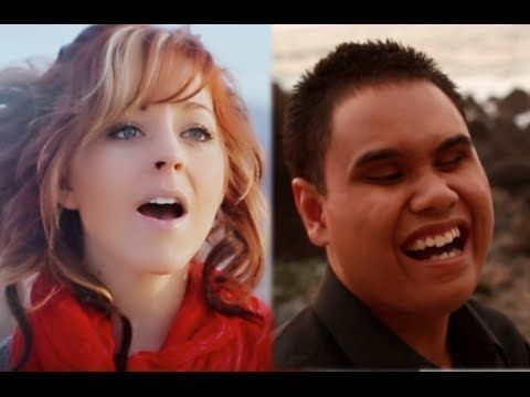 """Lindsey Stirling and Kuha'o Case team up to play """"O Come, Emmanuel"""" 