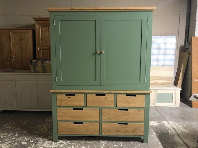 Large Bespoke Larder Cupboard Larder Cupboard Furniture Pine Furniture