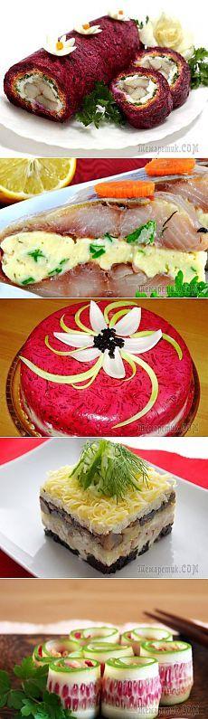 10 альтернативных вариантов салата «Сельдь под шубой»