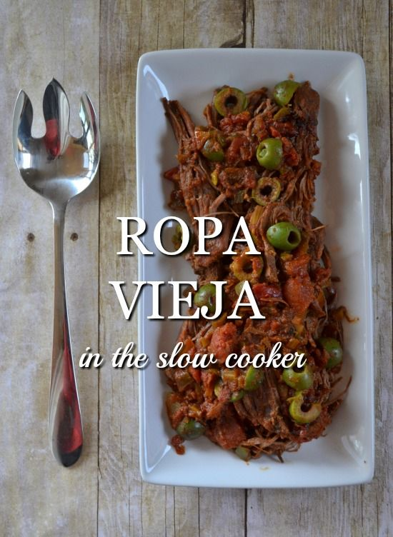 How to Make Ropa Vieja in the Slow Cooker. A healthy real life, real food recipe. Paleo, Whole 30 and 21DSD compliant too!
