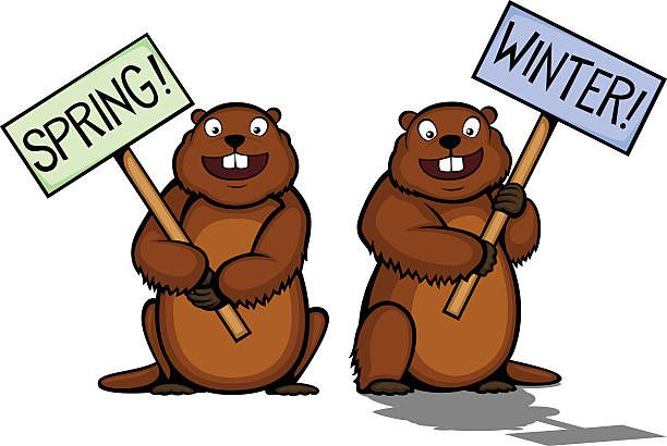 40++ Groundhog day 2020 clipart info