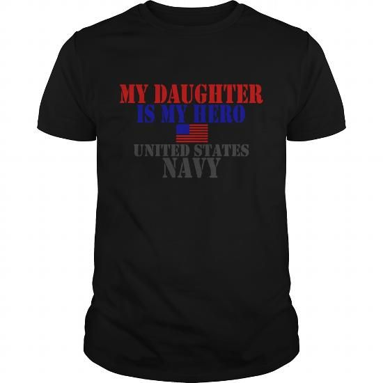 I Love White DAUGHTER HERO US NAVY Womens T Shirts Womens T Shirt T shirts #tee #tshirt #named tshirt #hobbie tshirts #Navy
