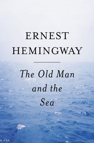 The Old Man and The Sea by Ernest Hemingway http://smile.amazon.com/dp/0684801221/ref=cm_sw_r_pi_dp_JFTswb07YV0DJ