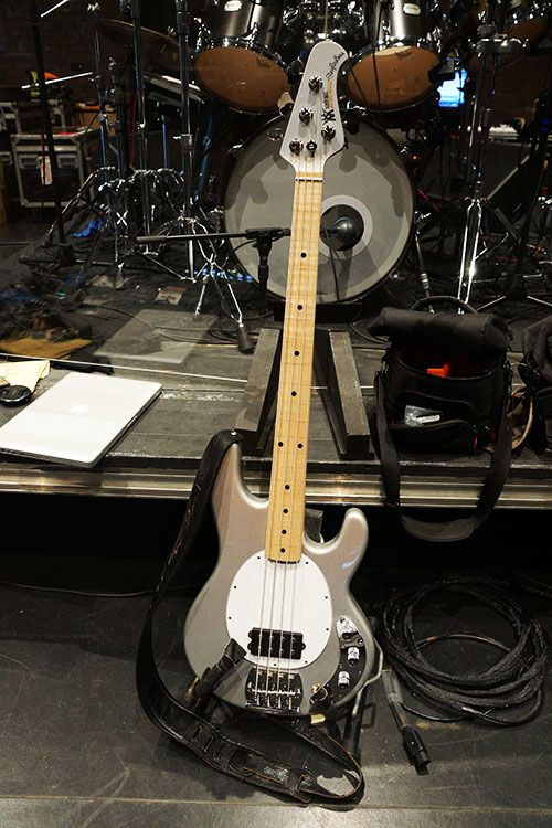 One of Tony Levin's Stingrays - Peter Gabriel Back to Front Tour 2012