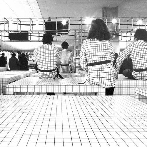 Quaderna Table - design Superstudio - Zanotta
