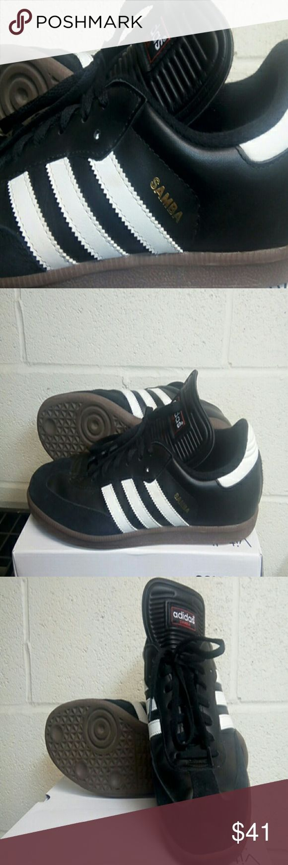Adidas Samba Futball Soccer shoes Classic style Adidas Samba size 11.  USD but great condition.  Non smoking and no pet home. adidas Shoes Sneakers