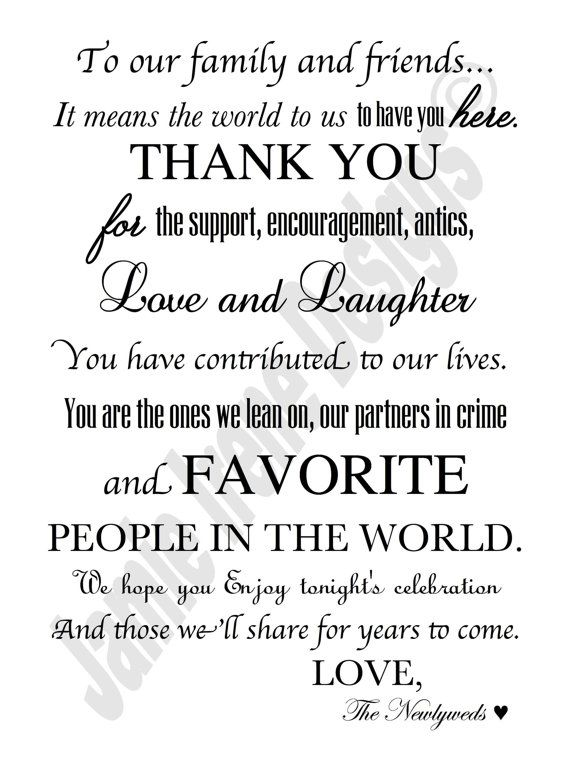 285 best Wedding Ideas images – What to Put in a Wedding Thank You Card