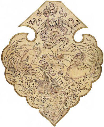 Dar Anahita: 16th C. Persian Cloud Collars