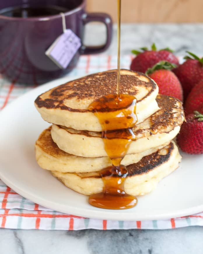 Recipe Fluffy Ricotta Pancakes Recipe In 2020 Ricotta Pancakes How To Make Pancakes Pancake Recipe