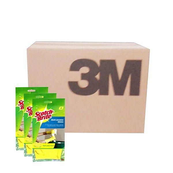 3M Scotch Brite Sarung Tangan Serbaguna (grosir)(ID-85) - 12 pcs/karton - u/ Membersihkan Lantai Kamar Mandi dg Murah  - Cocok untuk berkebun - Tahan bahan kimia - Kuat dan tahan lama - Tersedia dengan berbagai ukuran (S, M, L) - 1 karton (S=5, M=8, L=11).  Price per ctn (24 pairs/ctn)  http://tigaem.com/scotch-brite-grosir/937-sarung-tangan-serbaguna-sml.html  #scotchbrite #sarungtangan #3M