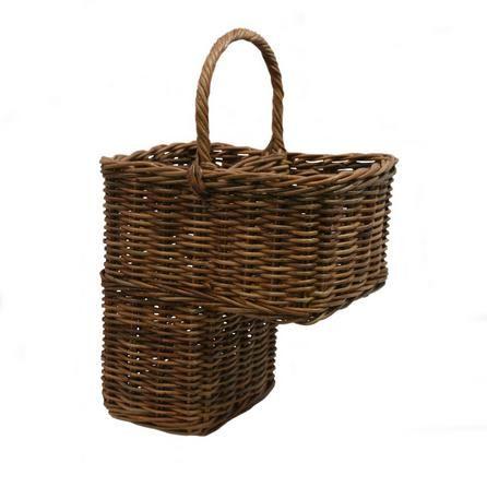 Dorma Brown Stair Basket