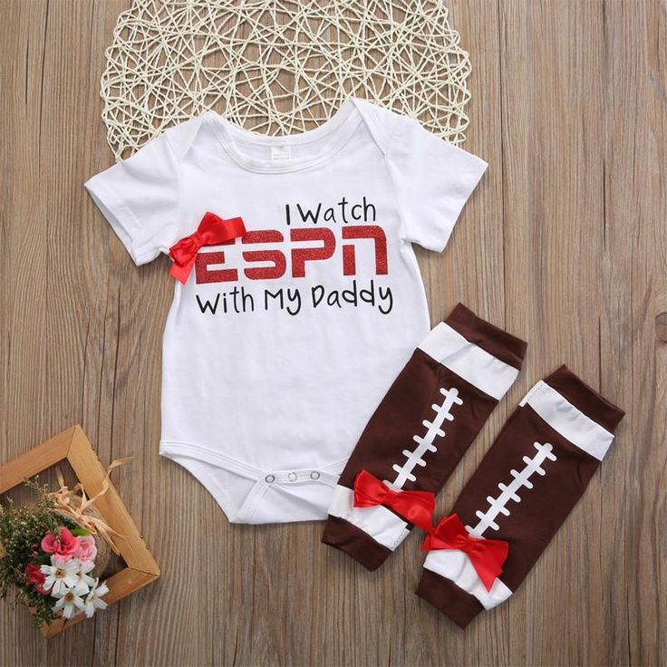 I watch ESPN with my Daddy 2pc set