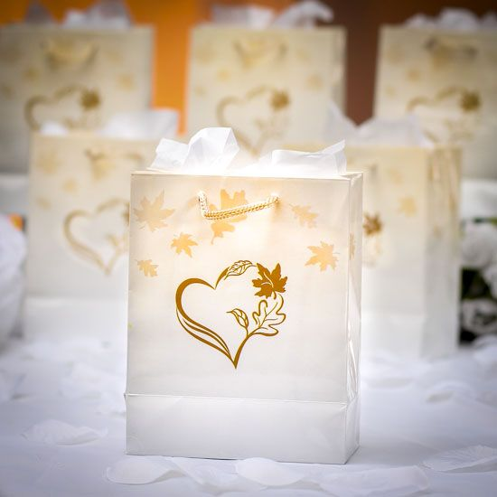 Small Wedding Gift Bag Ideas : Gift Bags