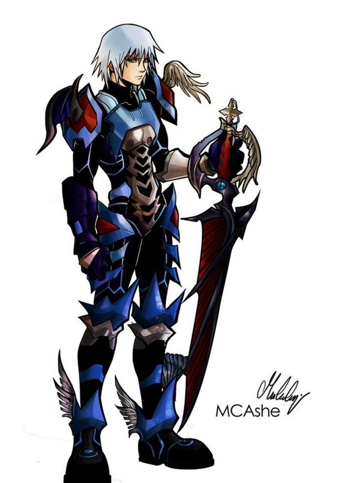 Keyblade Master armored Riku
