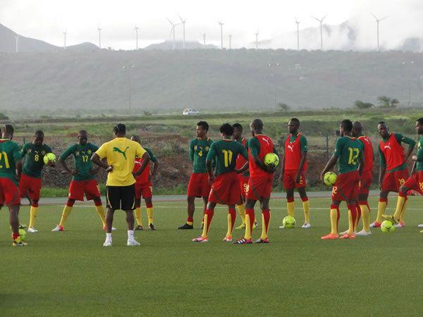 Match Cameroun-Tunisie du 17 Novembre 2013 a Yaoundé: