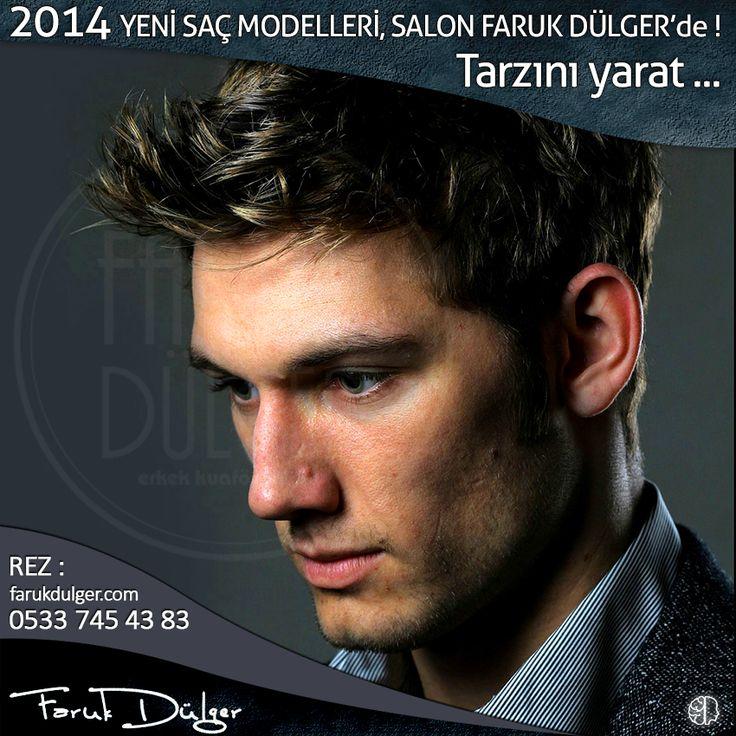 2014'ün en tutulan saç modellerini Salon Faruk Dülger'de dene. #erkek #saç #model #2014 #tarz #bursa #fsm #erkeksaç