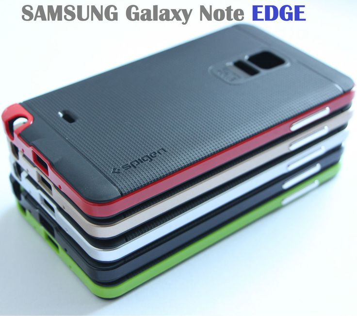 Spigen Neo Hybrid Soft Case Bumper Cover 4 Samsung Galaxy Note EDGE Shockproof