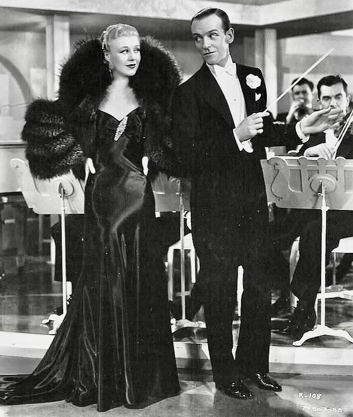 Ginger Rogers Fred Astaire Roberta 1935 Ginger Rogers Fred Astaire Fred And Ginger