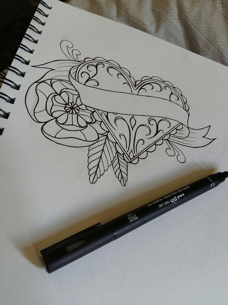 Best 25+ Traditional heart tattoos ideas on Pinterest ...