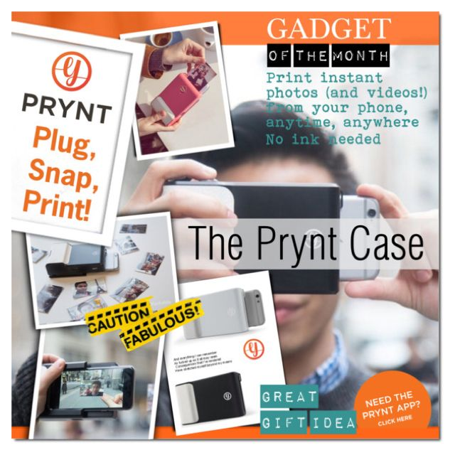 Gadget of the Month - Prynt