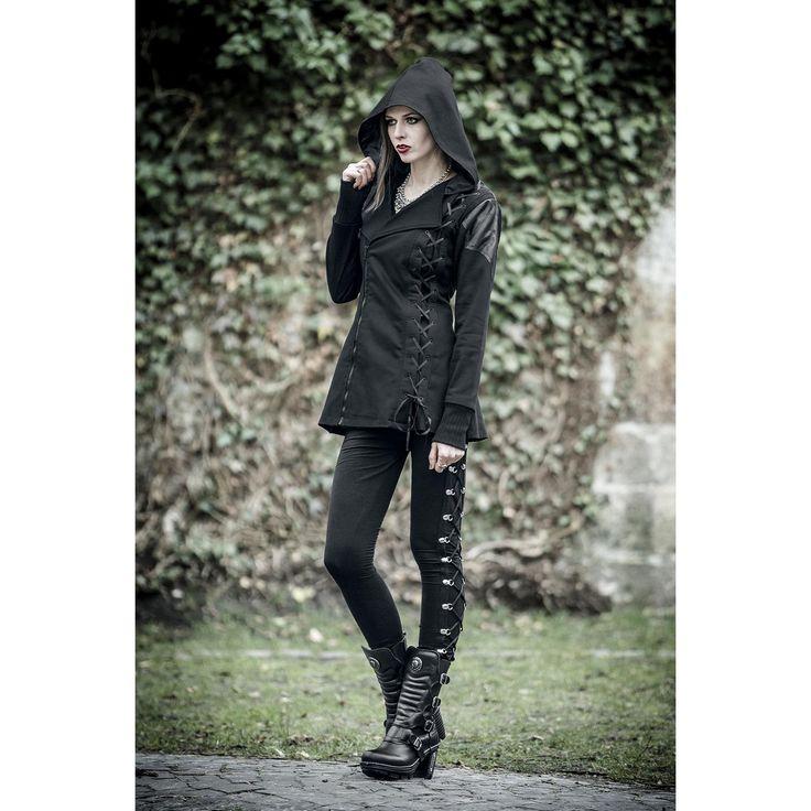 Gothicana by EMP  Übergangsjacke  »Vampire Jacket« | Jetzt bei EMP kaufen | Mehr Gothic  Übergangsjacken  online verfügbar ✓ Unschlagbar günstig!