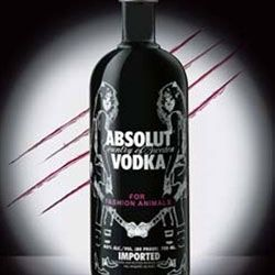 Absolut Vodka teams up with  Costume National to produce a limited edition bottle that will hip up your bar or freezer!