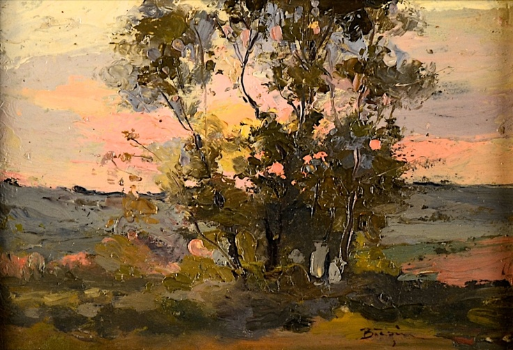 Aurel Baeșu - În apus