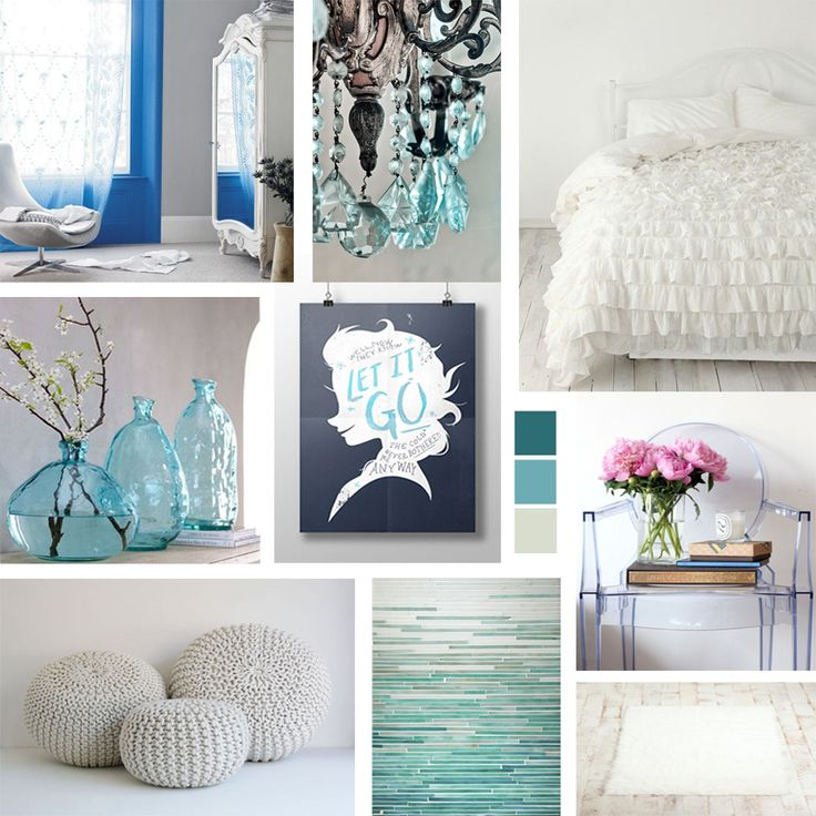a kids room decor mood board inspired by disneys frozen create a bedroom fit for
