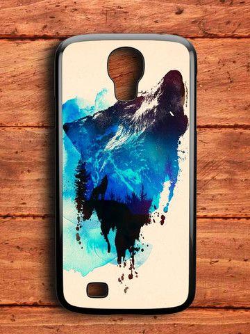 Nebula Wolf Samsung Galaxy S4 Case