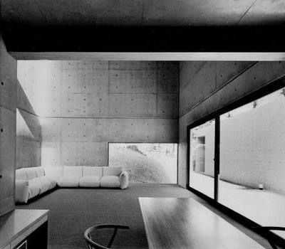 Koshino House. 1981. Ashiya, Hyōgo Prefecture, Japan. Tadao Ando