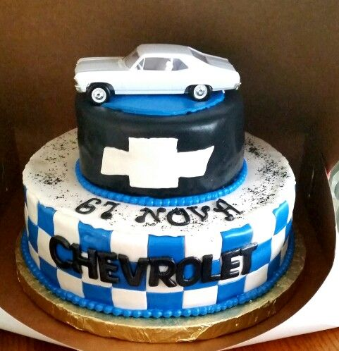 Chevy Cake JC CREATIONS CAKES In 2019 Dad Birthday