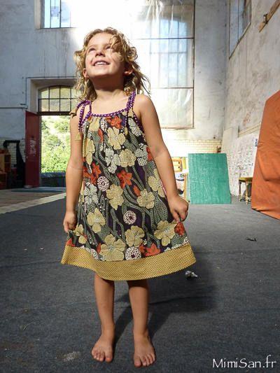 Robe TITLI PETUNIA /// BibOoShKa Robes Enfant/// robe été à