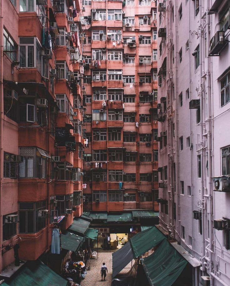 Architectural Patterns of Hong Kong's Buildings by Vivien Liu #inspiration # photography
