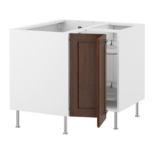 FAKTUM Armario bajo esquina - Rockhammar marrón - IKEA  180€