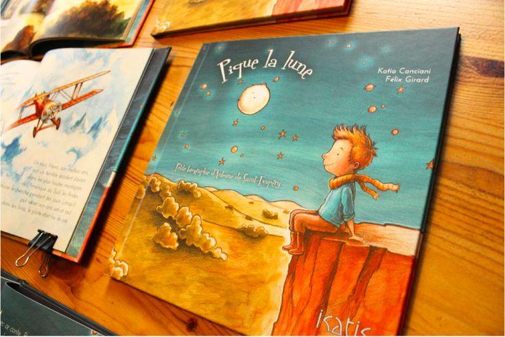 Pique la lune : petite bio de St-Exupéry