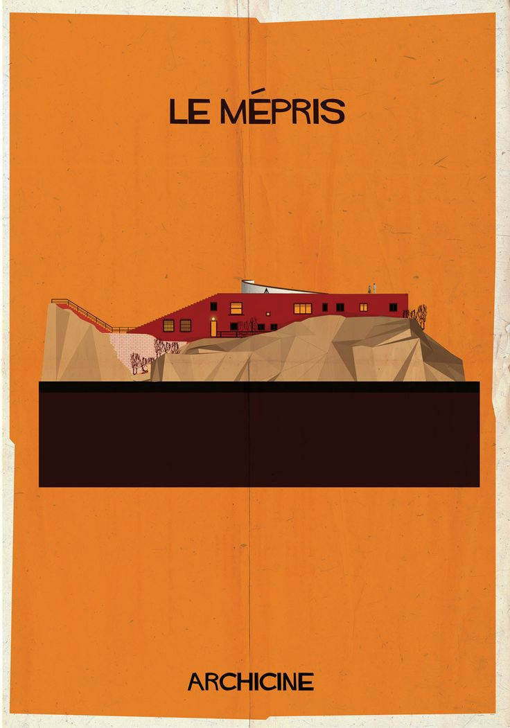 Gallery of ARCHICINE: Illustrations of Architecture in Film - 16