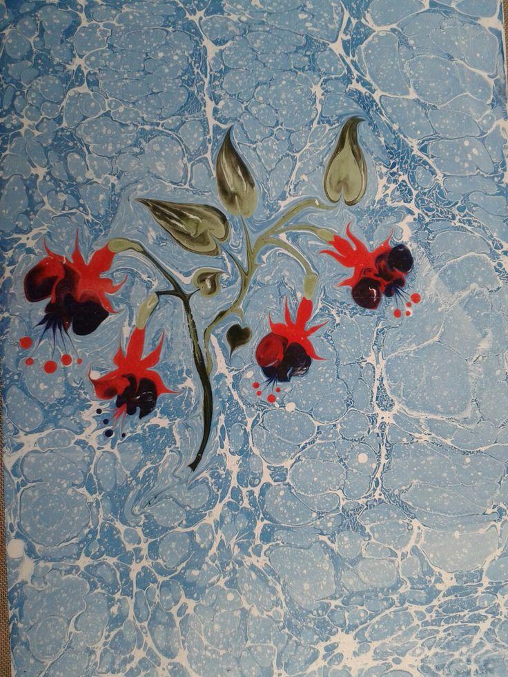 ebru sanatı (marble art) by Mai Hatti