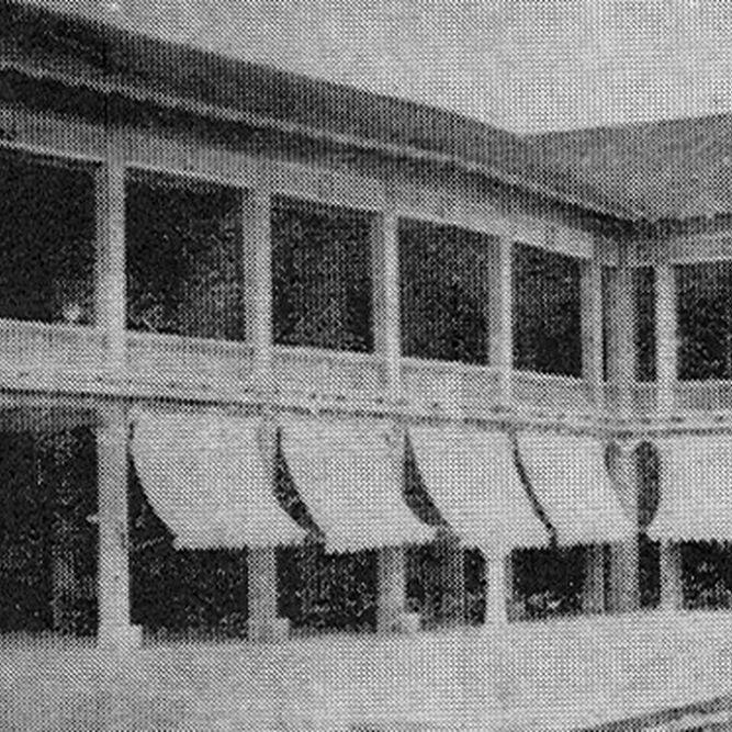 Terraza del antiguo Club Unión