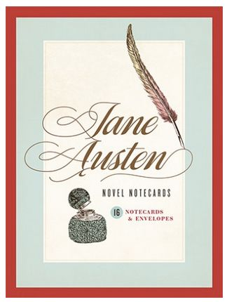Jane Austen boxed notecards