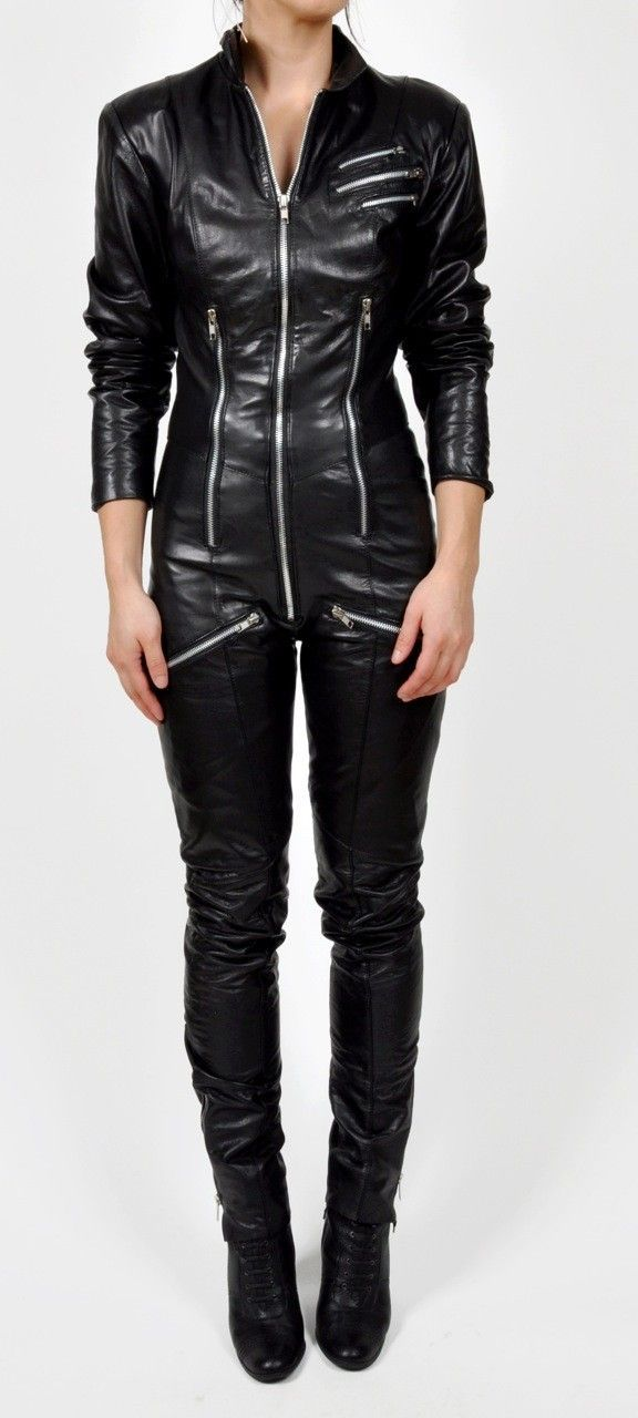Image result for leather catsuit