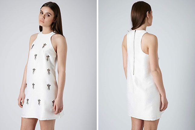 20 Alternative Dresses to Wear to Your Wedding Reception via Brit + Co.