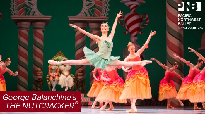 Pacific Northwest Ballet: George Balanchine's The Nutcracker, November 24 - December 28, 2017 at McCaw Hall. #McCawHall #PNBallet #Seattle #Nutcracker #KidFriendly