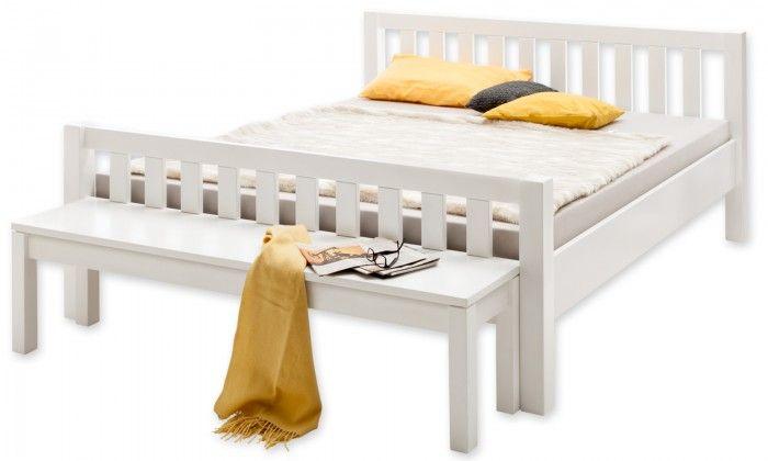 Holzbett weiß MS-Schuon Ben Comfort Bett weiß Lack | perfekt-schlafen.de