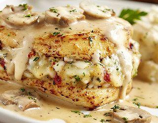 Stuffed Chicken Marsala