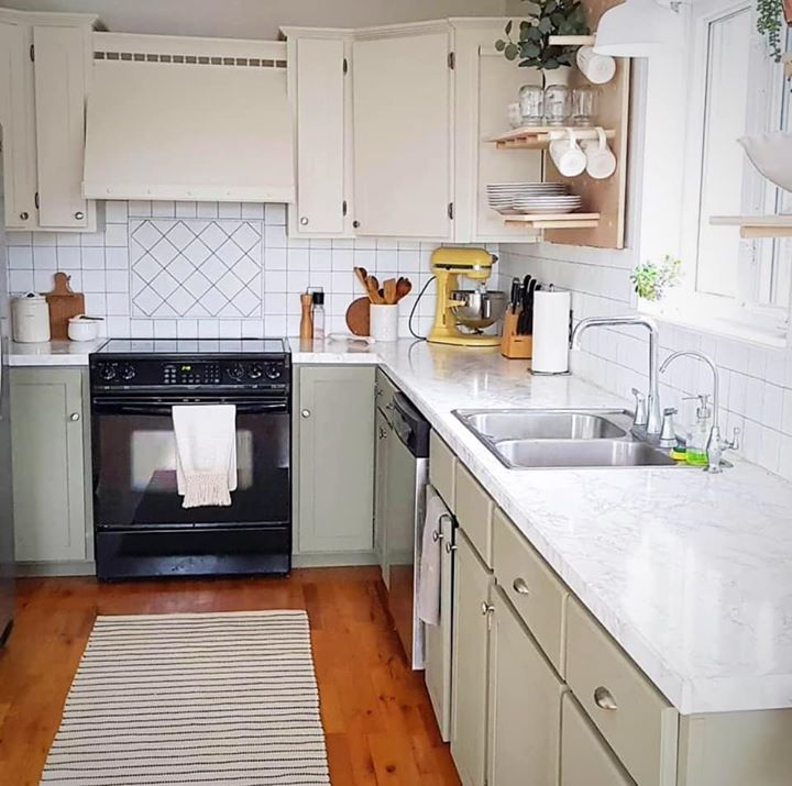 Another gorgeous kitchen makeover with Fusion Mineral ...
