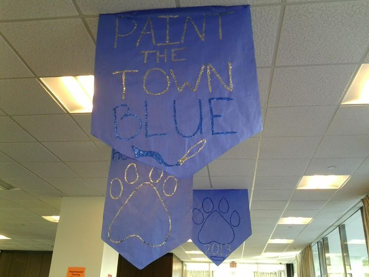 Pinterest Homecoming Hallway Football Decoration | Design Home ...