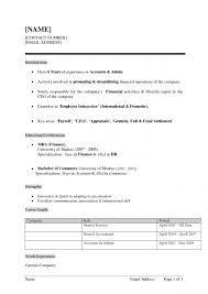 image result for resume format for fresher - Fresher Resume Format